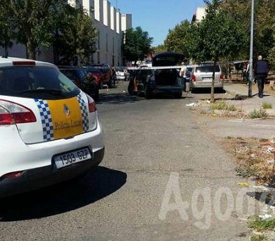 Dos heridos en Merida como consecuencia de un tiroteo en la barriada de San Lazaro