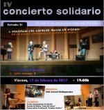 Este viernes en el Centro Cultural Alcazaba IV concierto solidario a beneficio del comedor social Padre Cristobal