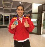La judoka emeritense Cristina Cabaña consigue el bronce en Praga y se clasifica para el Campeonato de Europa